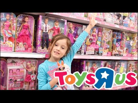 Toys R Us Toy Hunt Shopping Spree Barbie Shopkins Season 7