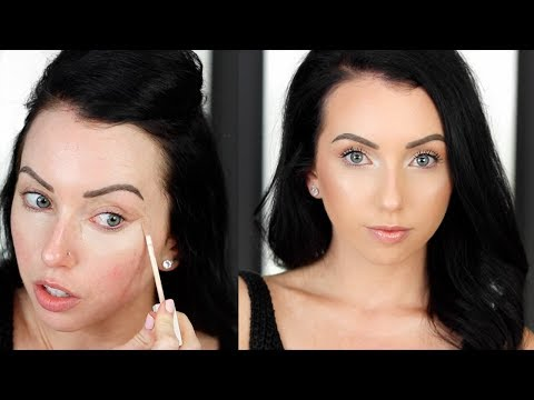 THE BEST POWDER FOUNDATION ROUTINE! Glowy Flawless Lightweight Full Coverage