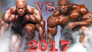 Big Ramy Vs Phil Heath | Mr Olympia 2017