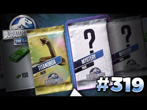 WINNING THE TITANOBOA SPIN WHEEL? || Jurassic World - The Game - Ep319 HD