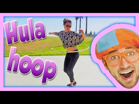 Hula Hoop for Kids - English for Toddlers - Word of the Day Hula Hoop