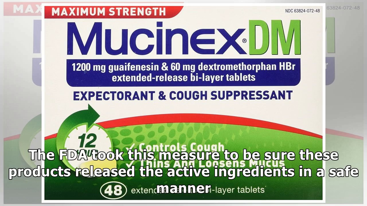 Mucinex Dm Dextromethorphan Guaifenesin Side Effects Dosage
