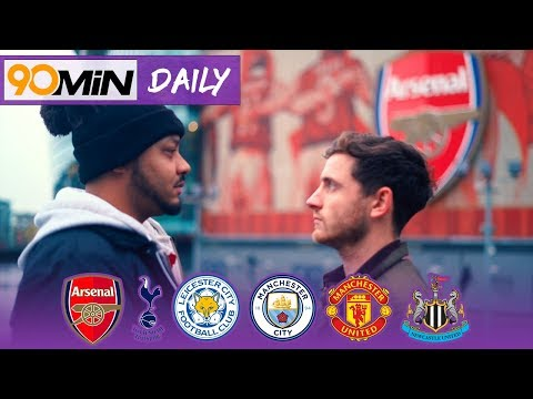 Are Arsenal or Tottenham the biggest club in North London? | Troopz vs Hainsey | 90min Daily