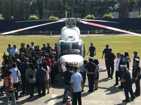 PNP gets new helicopter for police operations