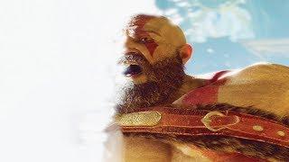 Kratos Enters The Light - God of War 4