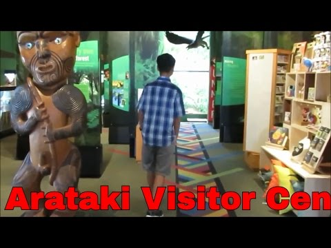 Art exhibitions at Arataki visitor center, Auckland