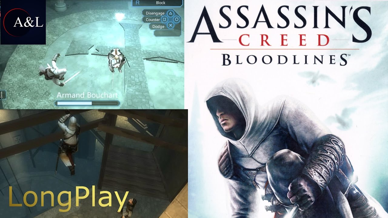 Psp Assassin S Creed Bloodlines Longplay 4k Youtube