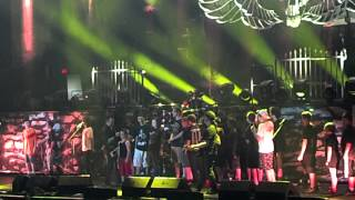 Volbeat 16 dollars - kids invited up on stage