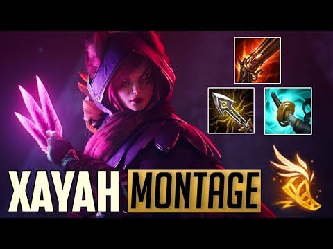 Xayah Montage 9 - Best Xayah Plays | League Of Legends Mid