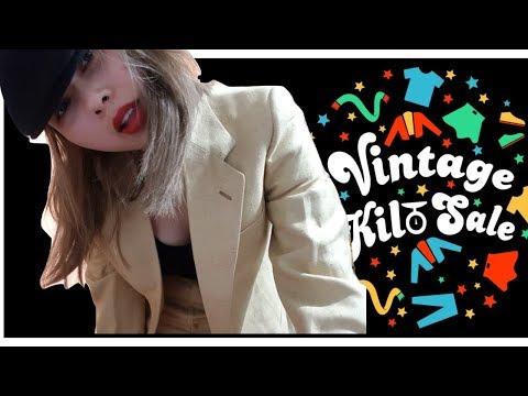 【vlog】買瘋了 Dublin vintage kilo sale