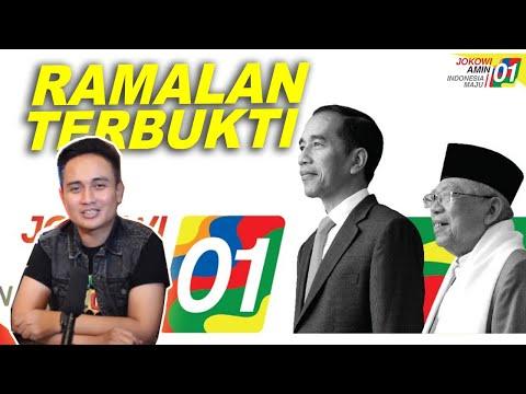 RAMALAN TERBUKTI : SELAMAT UNTUK JOKO WIDODO - MA'RUF AMIN PEMENANG PILPRES 2019 (Part 1)