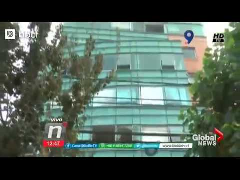 Dramatic video captures moment of explosion at Chile hospital which left 3 dead
