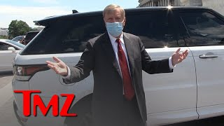 Lindsey Graham Explains Being Maskless with Trump, Still Supports Wearing One | TMZ