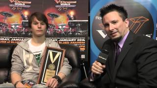 Baard Kolstad Interview, Winner of the V-Drums World Championship 2012