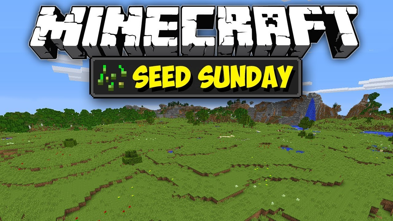 Minecraft 1122 Super Flat Plains Spawn Seed Sunday Ep241