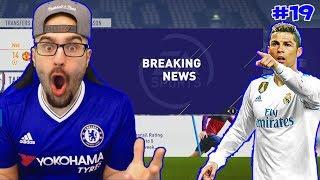 WOW Trading Hazard For Cristiano Ronaldo! - FIFA 18 Chelsea Career Mode #19