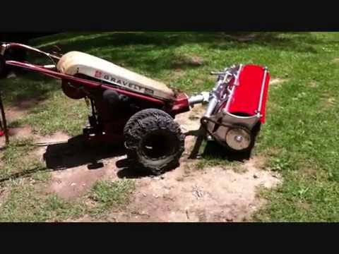 Video 4 Gravely Tractor Demonstration Series 1973 Gravely