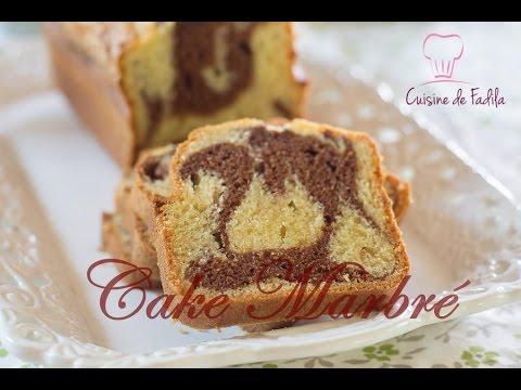 Cake marbr facile youtube for Video de cuisine youtube