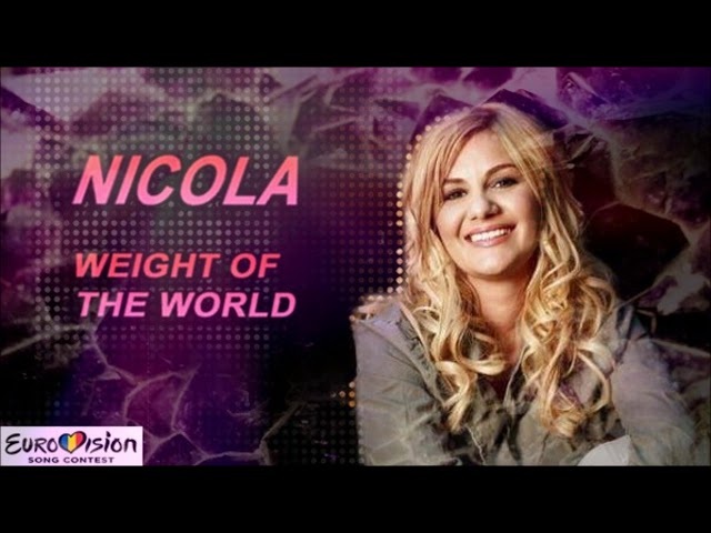 Nicola - Weight of the World (Selecția Națională 2019)