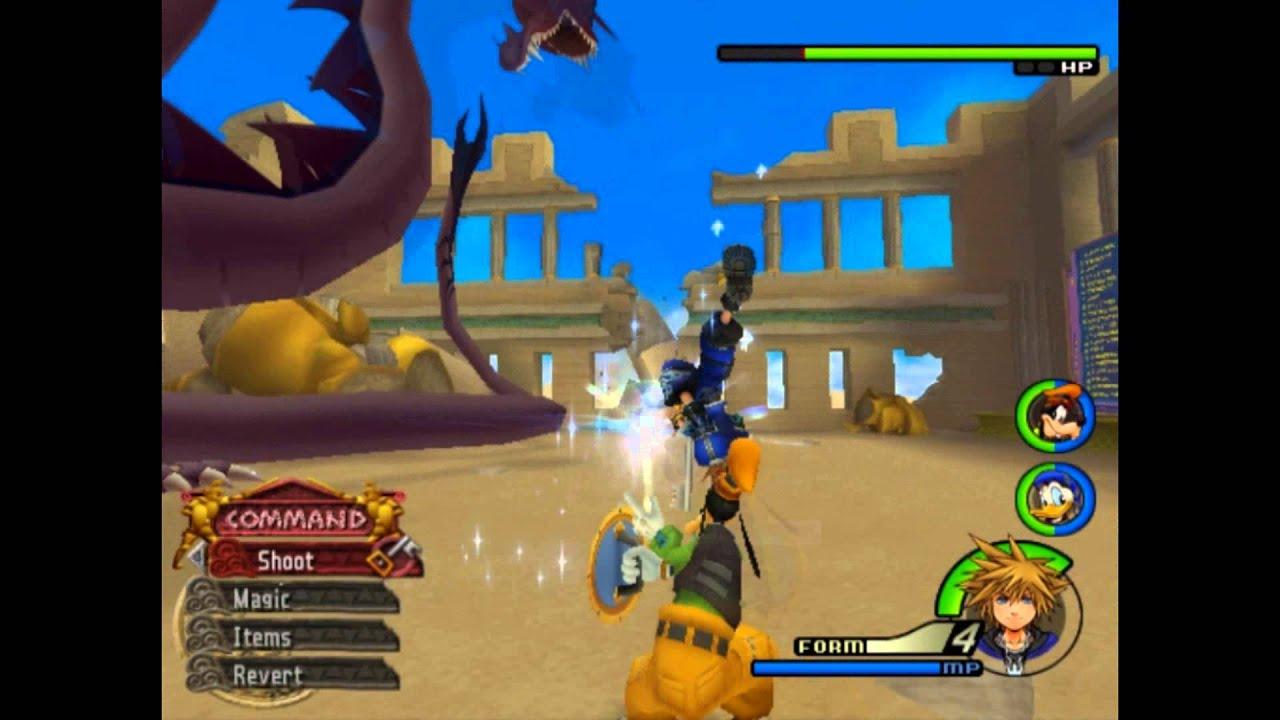 Kingdom Hearts 2 Wisdom Form Sora vs Hyrdra - YouTube