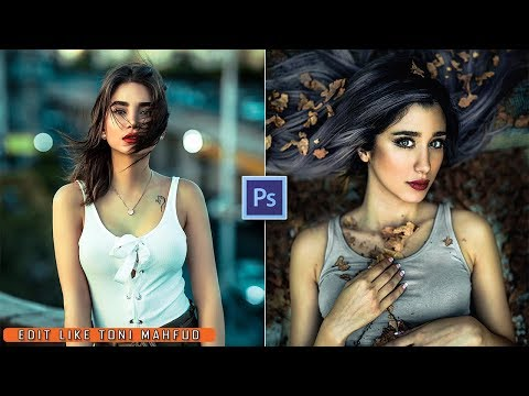 How To Edit Like Toni Mahfud | Photoshop CC Tutorial thumbnail