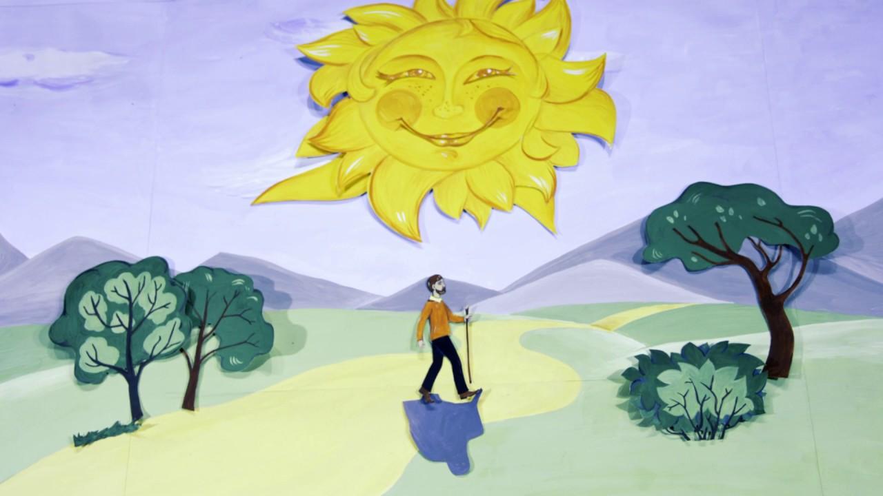 внутренней картинки к рассказу ветер и солнце должен быть