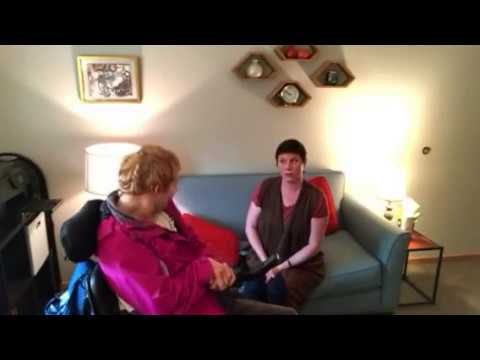 Carolyn George- transitioning from male to female with cerebral palsy