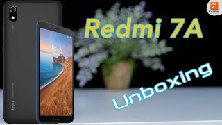 Redmi 7A: Unboxing | Hands on | Price [Hindi-हिन्दी]