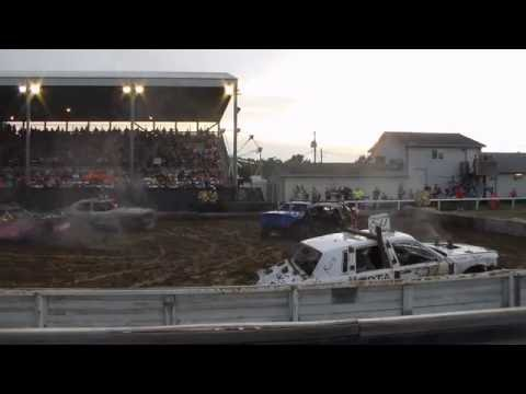 Marion County Salem Demolition Derby Heat 2 2016