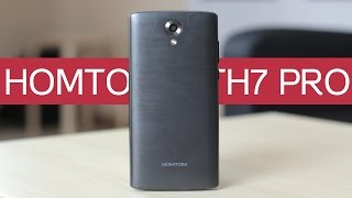 HOMTOM HT7 Pro - первое впечатление и недораспаковка (geekbuying.com)