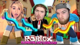 LITTLE KELLY FIGHTS OFF HER BOYFRIEND & ROBBIE?! | Roblox Elemental Battleground