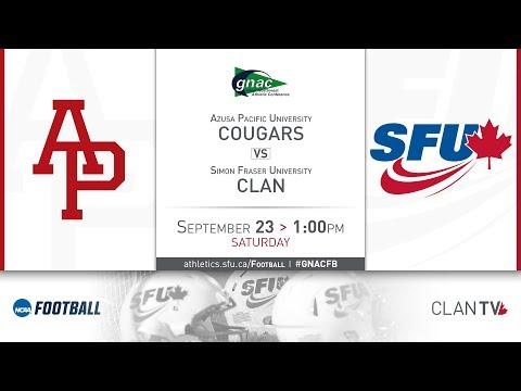 SFU Clan Football vs. APU - September 23, 2017