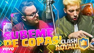 """SÚBEME DE COPAS"" | Enrique Iglesias - Súbeme la radio | Sinapsis ft Viruzz (PARODIA CLASH ROYALE)"