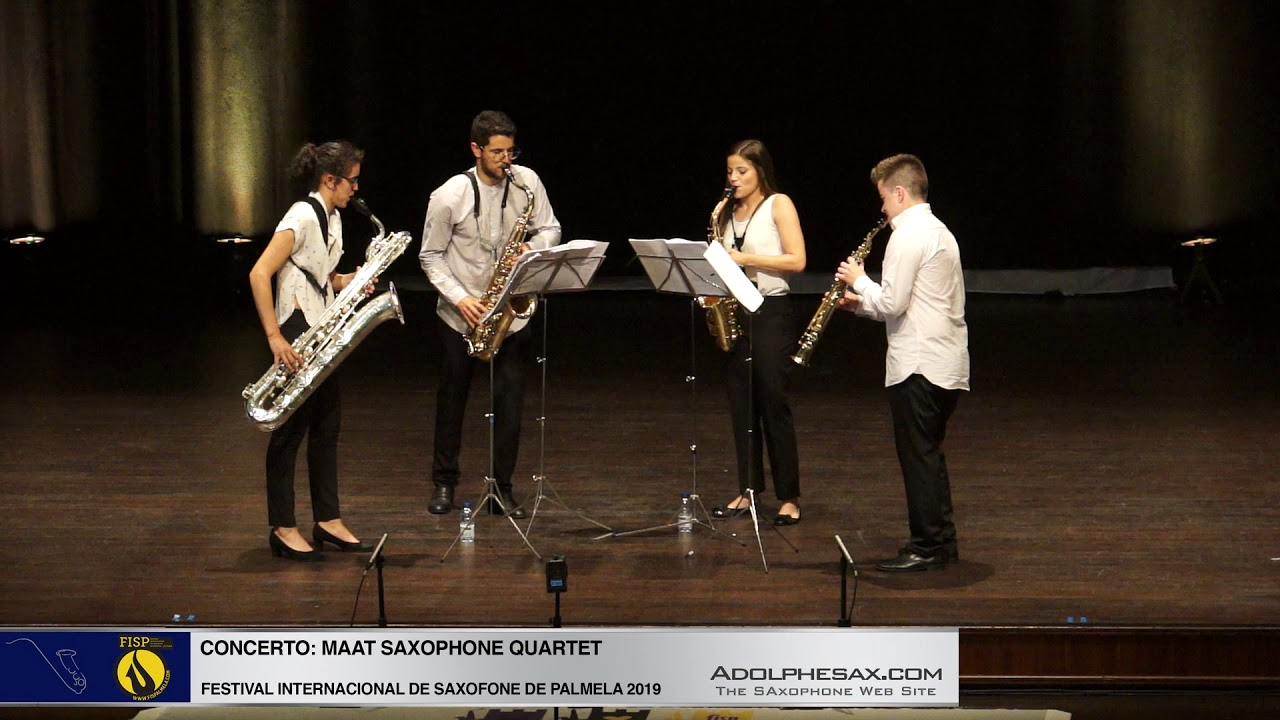 FISPalmela 2019- Maat Sax Quartet -  He Wordsworth Poems by Guillermo Lago