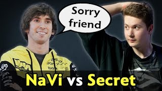Sorry friend — Dendi epic Magnus NaVi vs Secret