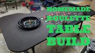 Home Built Roulette Table