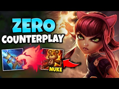 WTF?! THIS ANNIE BUILD HAS LEGIT ZERO COUNTER PLAY! WALK UP AND ONE SHOT - League Of Legends