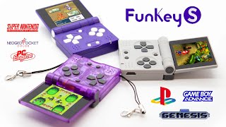 The FunKey S Looks Like The Smallest Gameboy SP In The World But It Can Play PS1 Games