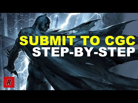 How to Submit Books to CGC | Step-by-Step Process | Comic Books | Grading