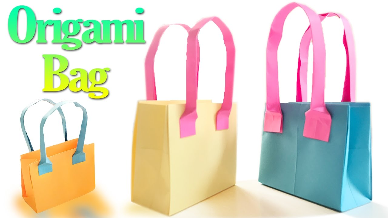 How to Make an Origami Tote Bag: 14 Steps (with Pictures) | 720x1280