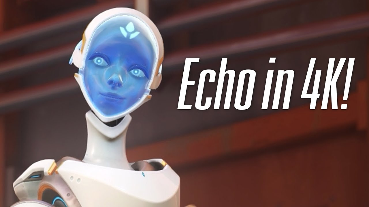 Download Overwatch - Echo Classic Skin - Highlight Intros, Emotes & more!