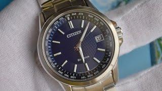 Обзор японских часов Citizen Eco-Drive CB1090 59L World Time