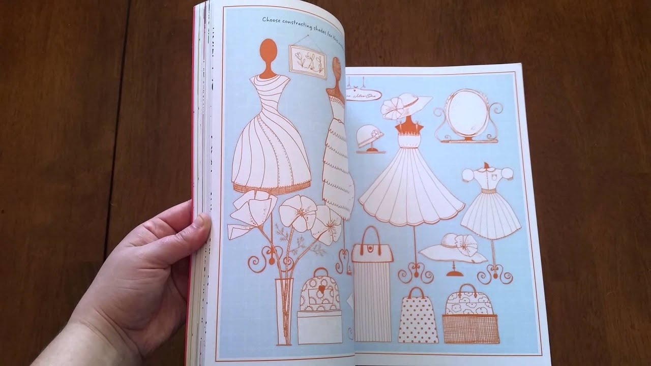 Usborne Books Amp More Drawing Doodling Amp Coloring Fashion