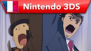 Professeur Layton vs. Phoenix Wright: Ace Attorney - Bande-annonce de lancement (Nintendo 3DS)