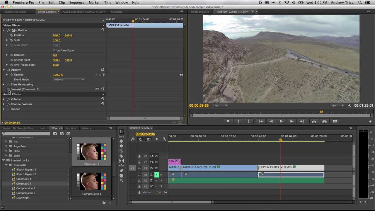 A Crash Course in Video Editing with Adobe Premiere Pro CC