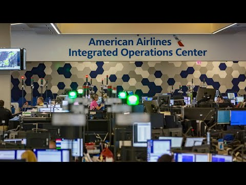 How Does The World's Largest Airline Operate? Inside The American Airlines IOC