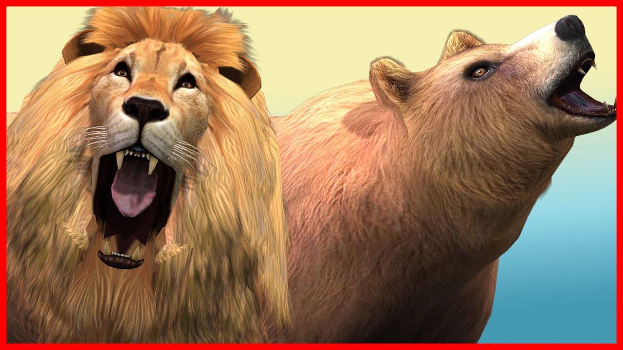 Гигантские львы Vs Динозавры Кинг-Конг военное дело ...