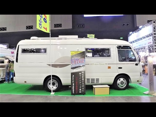 ??? ?? ?? ??? - Small Bus Conversion ACS eterno Octavia M by RV BIGFOOT  - Japan Camping Car Show 4
