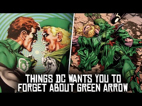 10 Things DC Wants You To FORGET About Green Arrow!