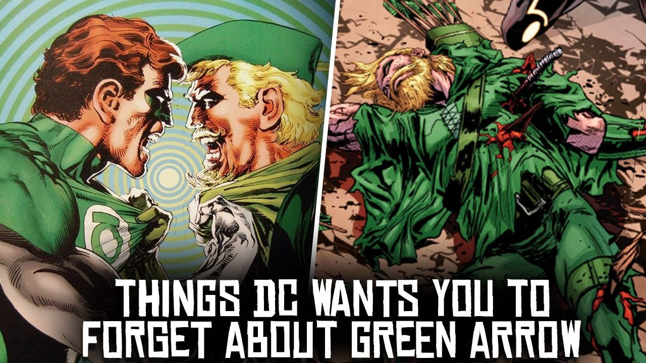 10 things dc wants you to forget about green arrow youtube